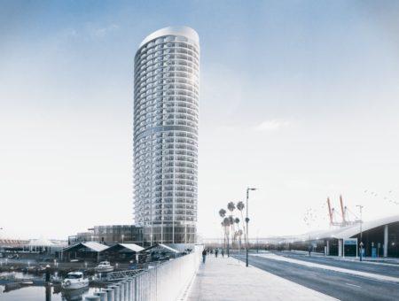 Ingho expone los retos de ingeniería de la torre del puerto de Málaga