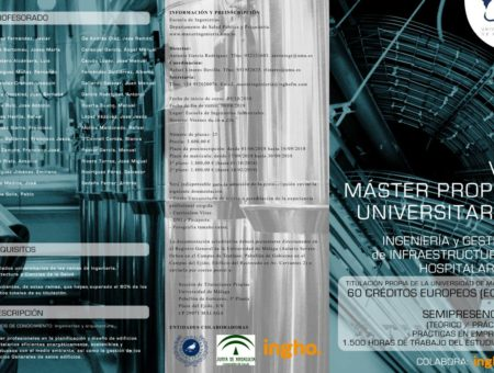 VII University Master in Engineering and Facility Management in hospitals
