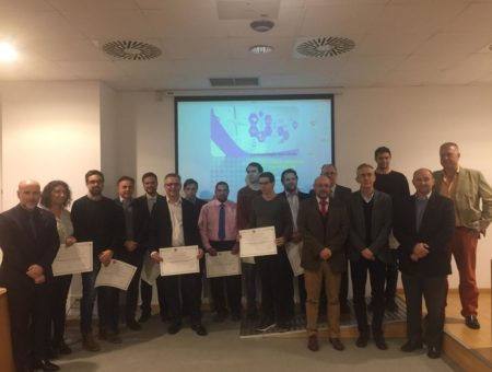 Prize-giving ceremony for VII University Master in Engineering and Facility Management in hospitals