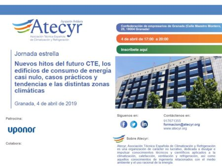 Star event organized by Atecyr. New challlenges derived from CTE, nearly zero energy buildings, cases studies and trending topics in different climate area.