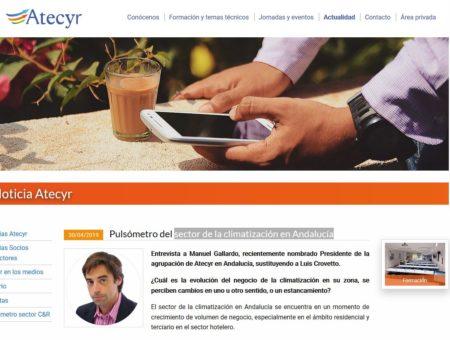 Entrevista a Manuel Gallardo Salazar en Atecyr.