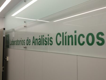 Clinic analysis laboratory in Jerez Hospital
