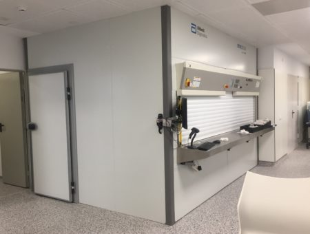 Clinic analysis laboratory in Puerto Real Hospital